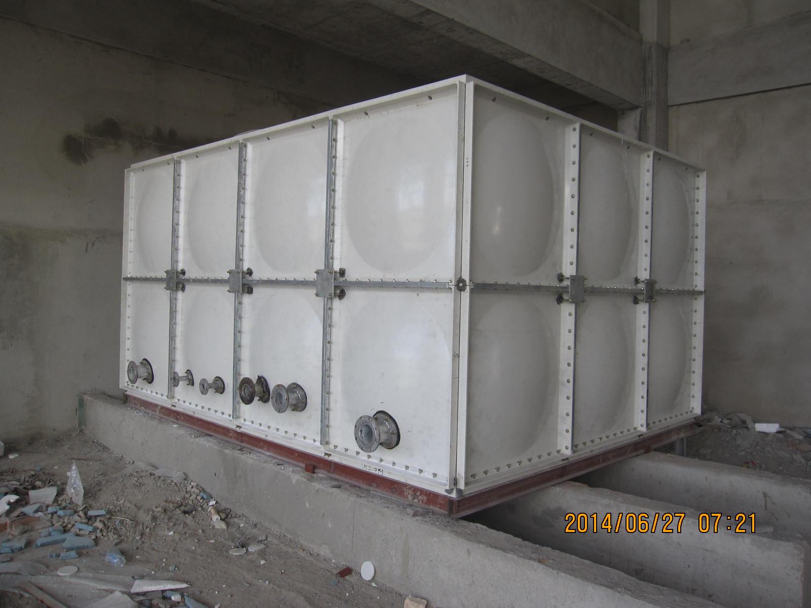 湖南24吨(立方)玻璃钢水箱