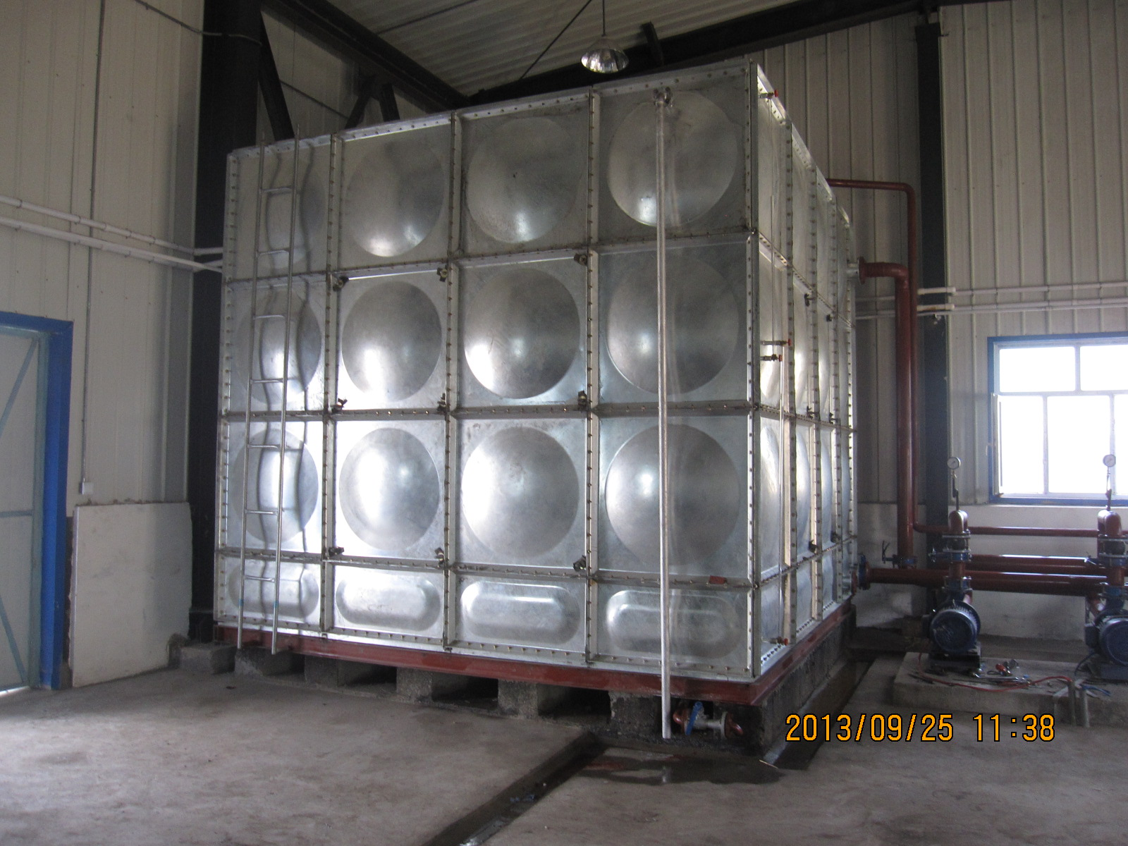 安徽镀锌钢板水箱